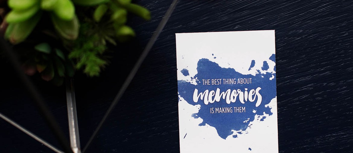 Free printable card for International Scrapbook Day from All for the Memories