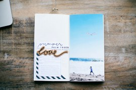 Traveler's Notebook spread by Allison Waken of Allforthememories.com