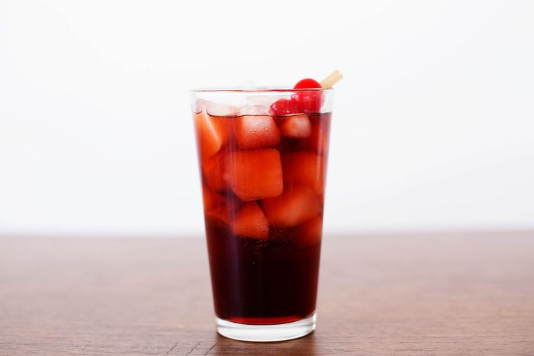 Cherry rum and Coke plus tips on creating