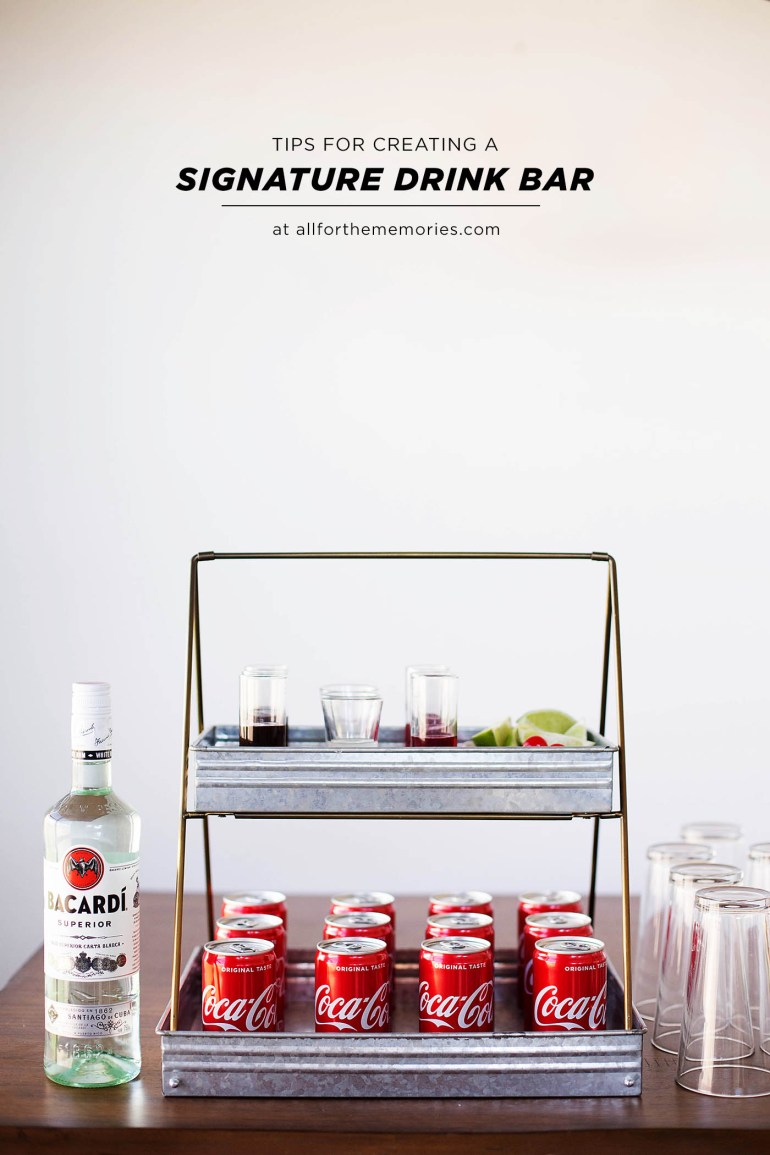 Chocolate rum and Coke plus tips on creating a signature drink bar