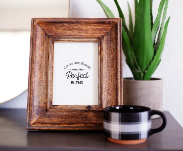 Free printable coffee and friends sign