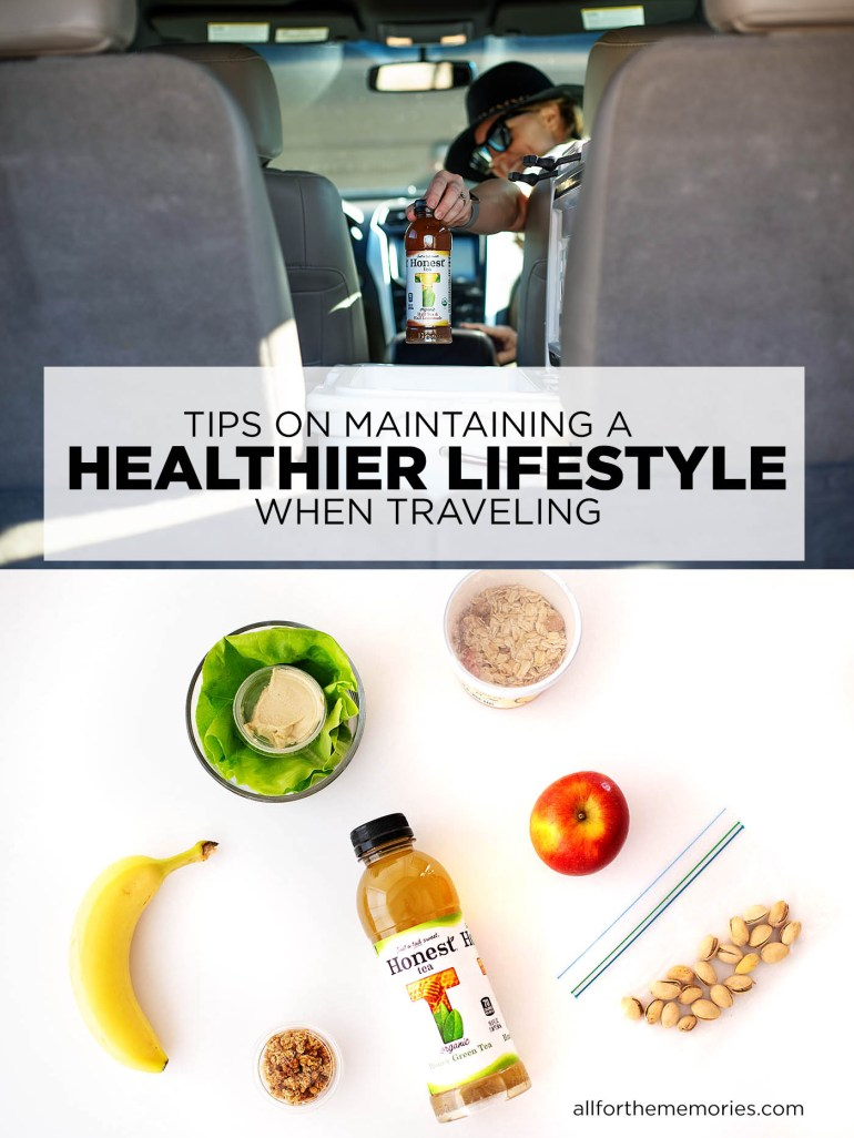 Tips on maintaining healthy habits when traveling