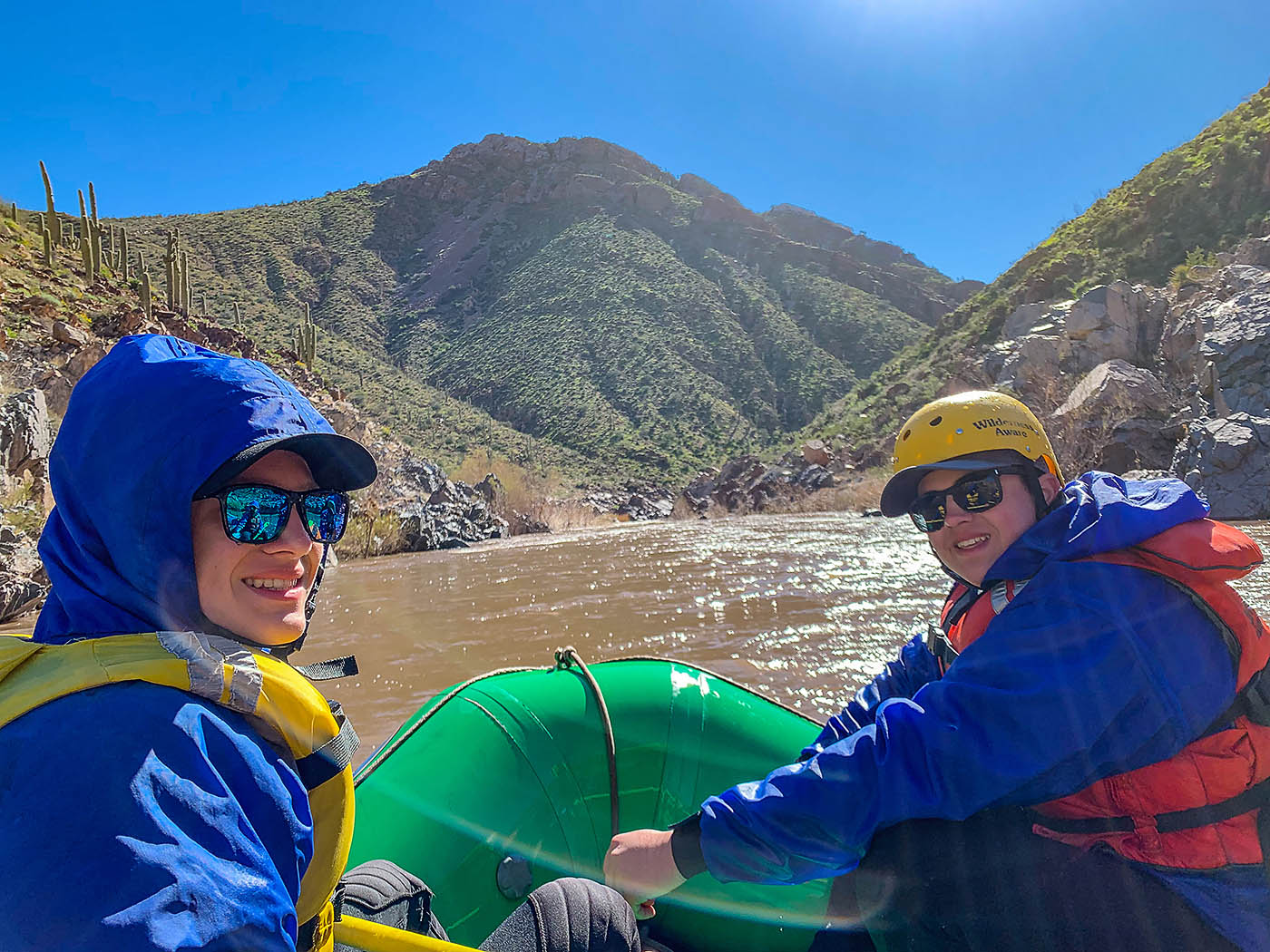 10 Reasons to go on a Whitewater Rafting Trip with Your Teens