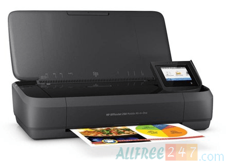HP OfficeJet 250 All-in-One Portable