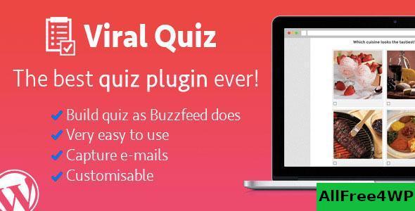 WordPress Viral Quiz v4.0.6 – BuzzFeed Quiz Builder