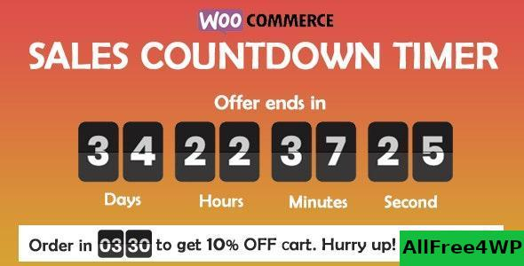 Checkout Countdown v1.0.1.1 – Sales Countdown Timer for WooCommerce and WordPress