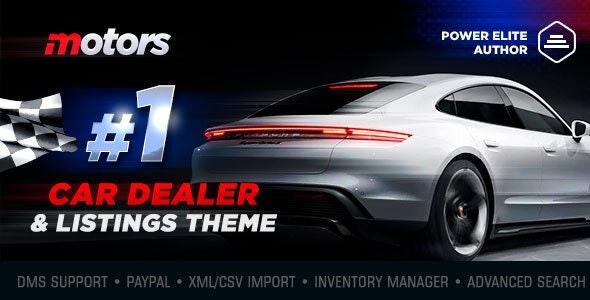 Motors – Car Dealer, Rental & Listing WordPress theme v5.1.0
