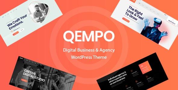 Qempo – Digital Agency Services WordPress Theme v1.0