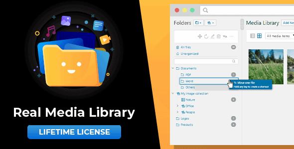 Codecanyon – WordPress Real Media Library: Media Library Folder & File Manager for Media Management v4.16.2