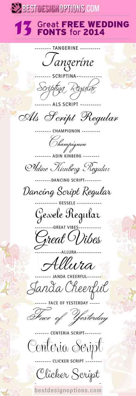 free wedding fonts # 33
