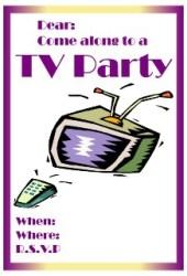 televison set