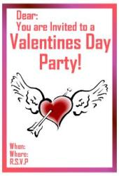 Celebrate valentines day with a party