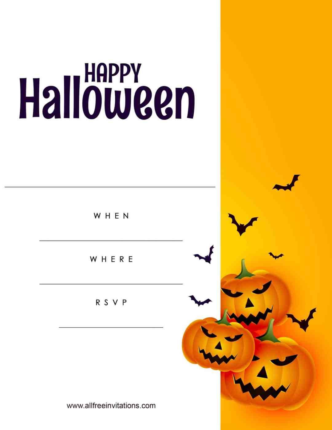 Free Halloween Invitation - All Free Invitations