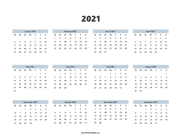 Maybe you're a homeschool parent or you're just looking for a way to supple. 2021 Calendar | Free Printable
