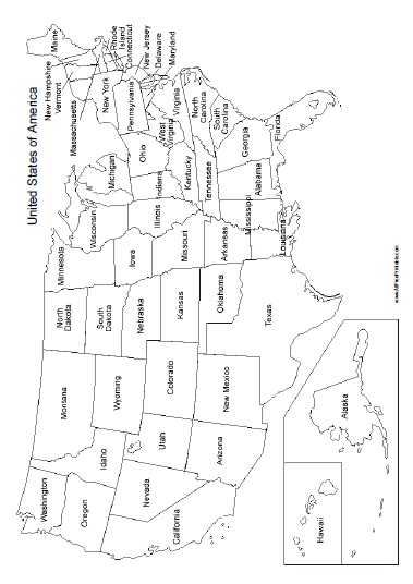 The wrong name can send the wrong message about you, while the right name can give your business exactly the boost it needs. United States Map With States Names Free Printable