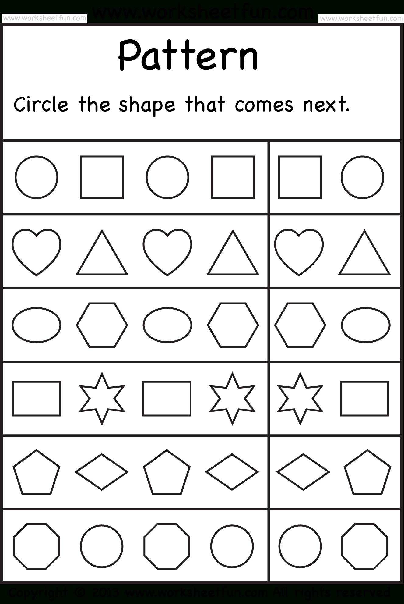 Free Printable Sequencing Worksheets For Kindergarten