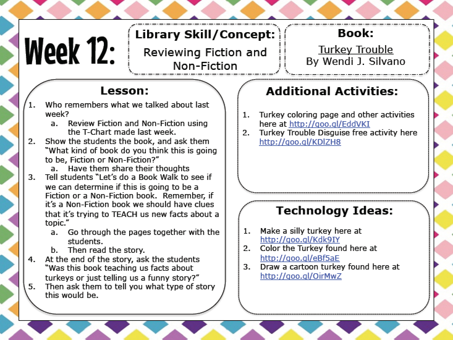 Free Library Skills Printable Worksheets