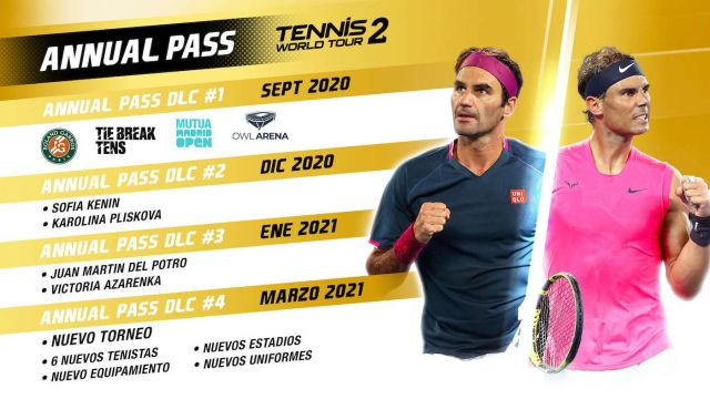 NACON Confirms Tennis World Tour 2 Release With Upgrades to PS5 and Xbox Series S |  X