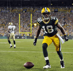 Can Packers WR Randall Cobb catch 100 passes in 2013?