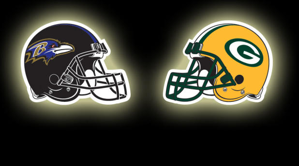Image result for Baltimore Ravens vs. Green Bay Packers
