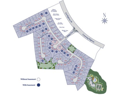 Sugar Hill Neighborhood Site Plan Ashford Crossing