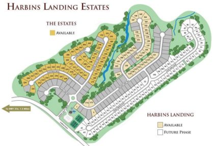 Community Site Plan Dacula Harbins Landing