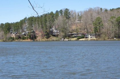 Lake In Maountain Park North Fulton GA