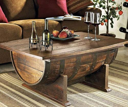 10 great whiskey barrel tables you can