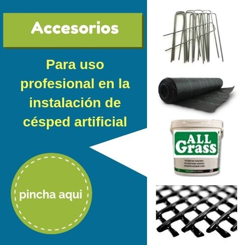 accesorios para instalar cesped artificial