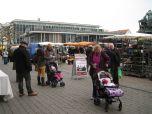 Wahlstand ALL- Hanau, 13.2. 2016 2