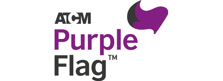 ATCM Purple Flag logo