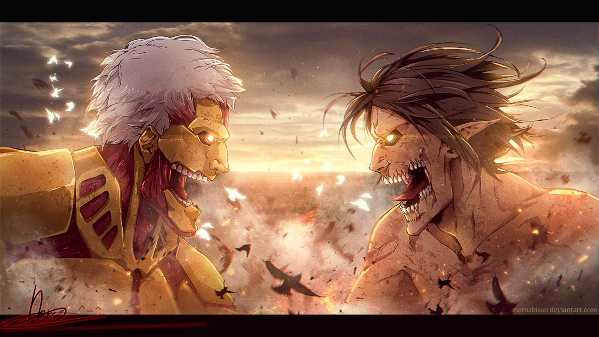 The tv adaptation of hajime isayama's critically acclaimed manga series attack on titan is one of the most popular shows among anime fans. Attack On Titan Wallpaper In High Quality - All HD Wallpapers