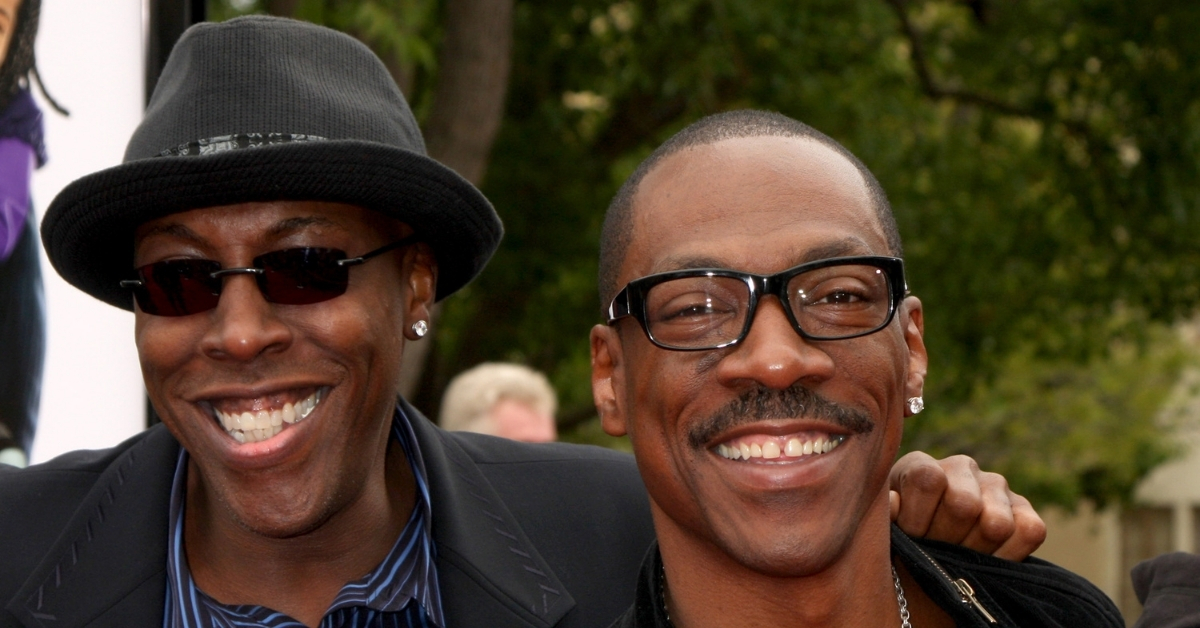 Arsenio Hall and Eddie Murphy
