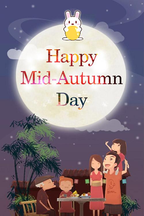 Happy Mid Autumn day 2019