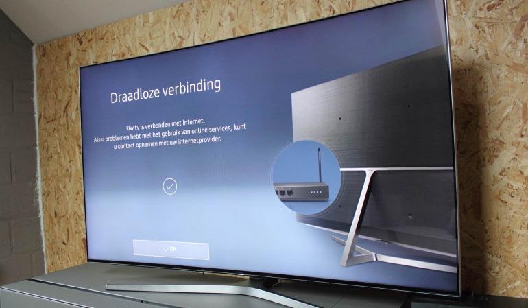 Samsung-KS9500 review setup