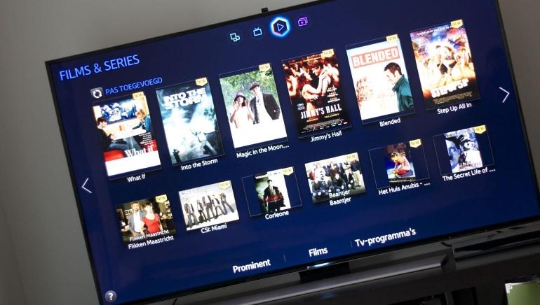 Samsung HU8500 review smart TV