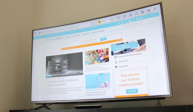 Panasonic-CR730E review browser