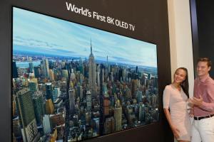 LG's 8K Ultra HD OLED TV