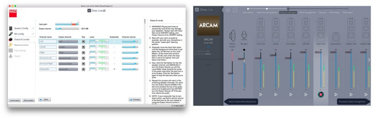 Background: Dirac Live 2 - calibration software for home use