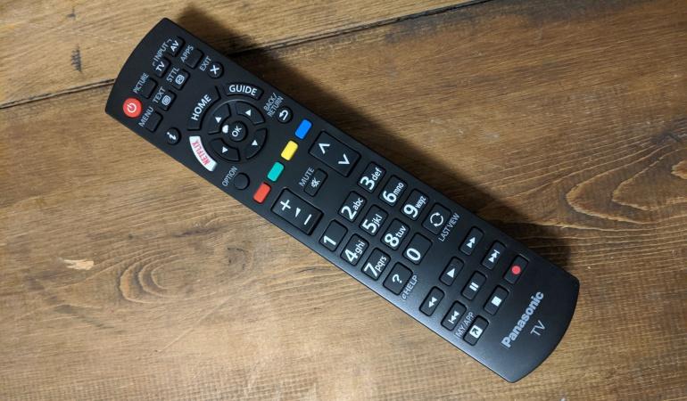 Remote of Panasonic TX-40GX830