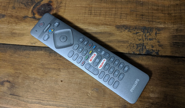Philips 65OLED984 OLED TV with Bowers & Wilkins soundbar- Remote