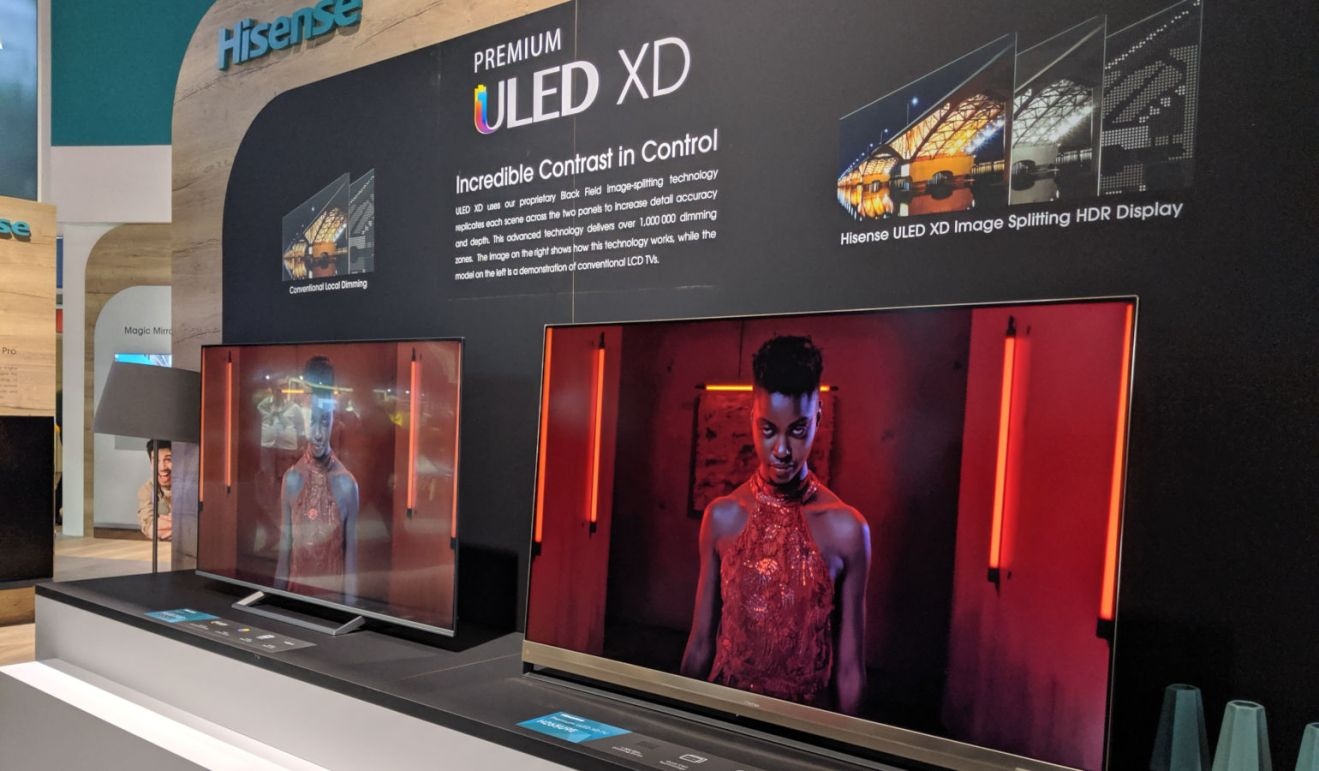 Dual Layer LCD technology