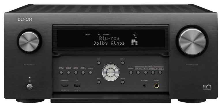 Review: Denon AVC-A110 receiver - Anniversary model