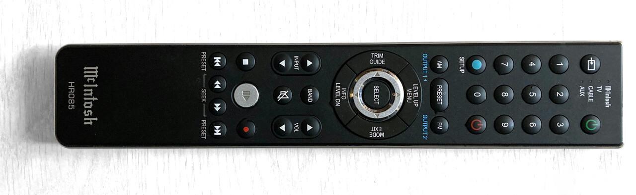 Remote of McIntosh MA8900 AC
