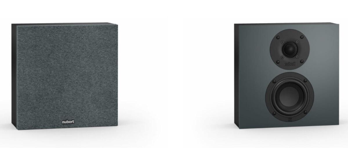 Nubert nuBoxx speaker series - the wall speakers
