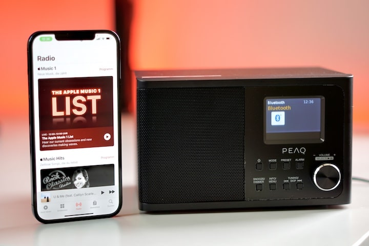 PEAQ PDR 170 BT-B digital radio