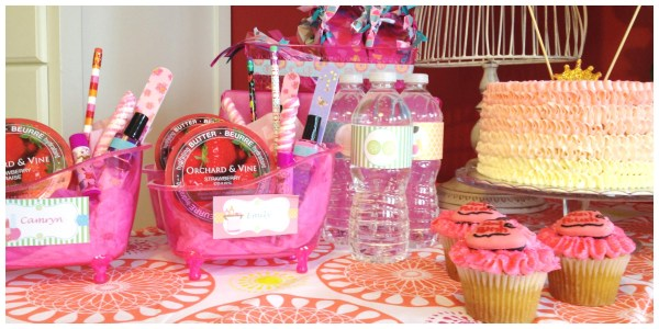 Home Kids Spa Party | Home Party Ideas