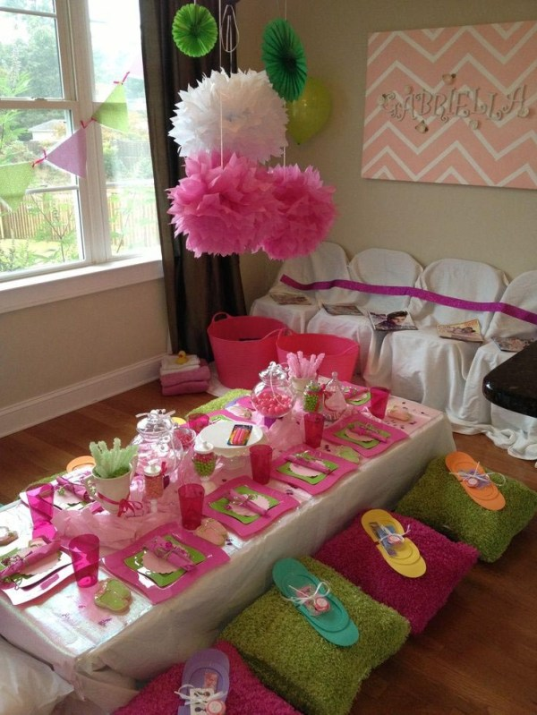 Spa Party Ideas For Girls | Home Party Ideas