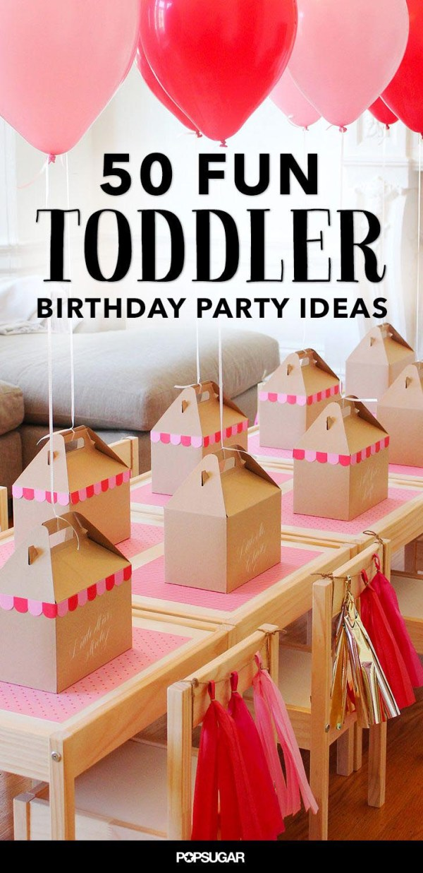 Birthday Party Ideas For Toddler Girl | Home Party Ideas