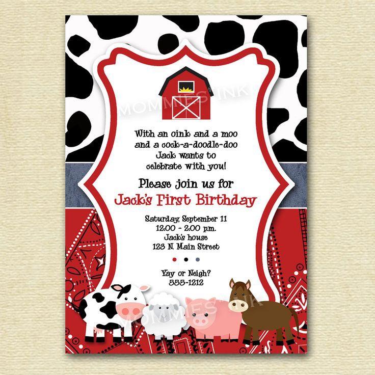 Invitation Birthday Party Home